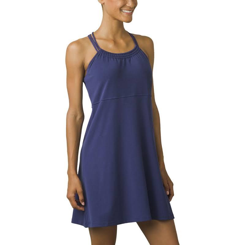 prAna Pristine Dress Indigo Large W31180372-IND-L