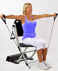 Chair Resistance Band Exercises The Resistance Chair Resistance Band Seated Exercise System Vq