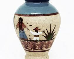 Mexican Pottery Vases Mexican Pottery Etsy
