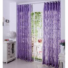 Purple Sheer Curtains Luxury Sheer Curtains In Coffee Color Poly Cotton Blend Fabric
