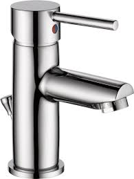 delta faucet modern single handle bathroom faucet chrome