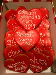 anniversary gift anniversary gift gives husband personalized cookies to