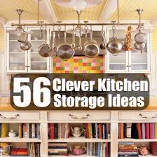 clever storage ideas for small kitchens 56 clever kitchen storage ideas diycozyworld home