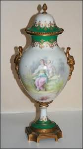 Capodimonte Vases Antique Capodimonte Vase With Goddesses And Cherubs Antique Vases