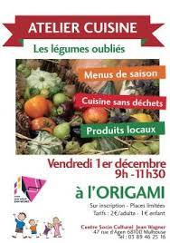 atelier cuisine parent enfant vendredi 1er décembre atelier cuisine parents enfants les légumes