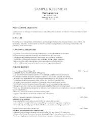 Sample Resume Objectives For Administrative Assistant by Plush Design Ideas Human Resources Resume Objective 4 For Hr