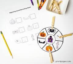 printable halloween pictures for preschoolers halloween theme pre k preschool kindergarten