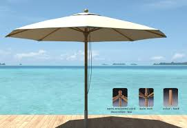 Patio Umbrella Cord by Royal Teak 11 U0027 Market Umbrella U0026 Reviews Wayfair