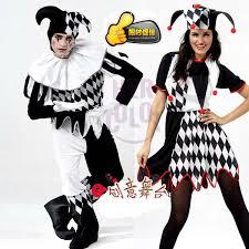 Halloween Costumes Hats Harlequin Jester Clown Circus Costume U0026 Hat Halloween Funny