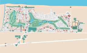 Nova Map Oliva Nova El Resort Entorno Plano Resort