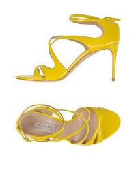 designer schuhe outlet casadei designer schuhe outlet sandalen gelb