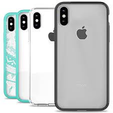 apple iphone x bling case aurora series coveron cases
