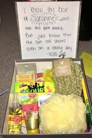 feel better care package ideas up kit for a friend found on g i f t s
