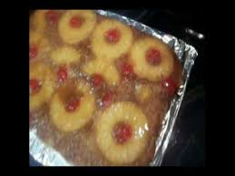 caramel pineapple upside down cake recipe youtube