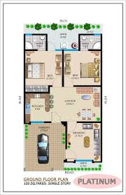 Floor Plans For Bungalow Houses Bungalow Ground Floor Plans Single Story Bungalow House Plans