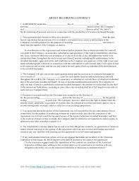 contract template for recording best resumes curiculum vitae and