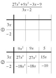 mathrecreation dividing polynomials the grid method