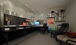 garage office shades of gray steel and cigars a garage to office conversion