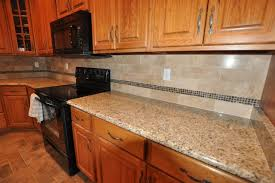 pictures of kitchen backsplashes with granite countertops granite countertops and tile backsplash ideas eclectic kitchen