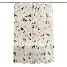 Target Bathroom Shower Curtains Plants Shower Curtain Green Room Essentials Target