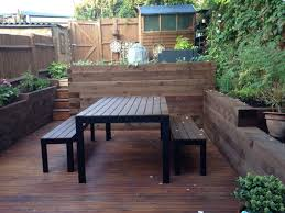 victorian small garden ikea garden table chairs and decking
