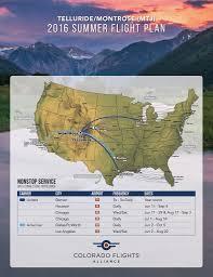 Telluride Colorado Map by Air Service Map Telluride Colorado Area Homes Condos And Vacant