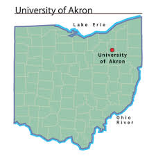 of akron map of akron ohio history central