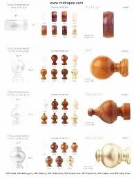 Finials For Curtain Rod Wood Poles Wood Finials And Wood Rings New Low Price