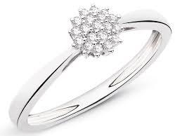 pierscionki apart pierścionek z białego złota z brylantami wzór 160 153 apart