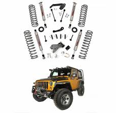 lift kit for 2007 jeep wrangler unlimited country 4 in suspension lift kit for 2007 2017 jeep wrangler