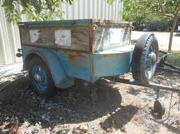 Vintage Ford Truck Beds - trailer made from old pickup bed ford wire wheels the h a m b