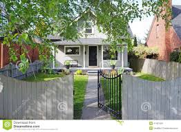 House With Front Porch Small House With Front Porch Stock Photo Image 41033881