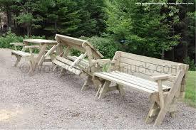 folding bench picnic table woodchuckcanuck com