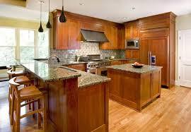 Brown Granite Dark Cabinets Backsplash Ideas - Baltic brown backsplash