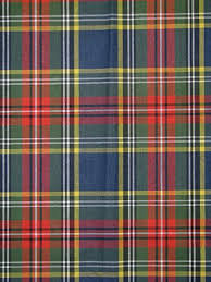 plaid tartan multi robert allen fabric