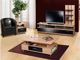 Set Of Tables For Living Room Tv Table Set Contemporary Tables For Rizz Homes Intended 6