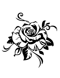 free printable rose coloring pages hm coloring pages clip art