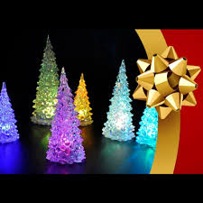 aliexpress com buy christmas trees shaped ice crystal colorful