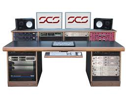Omnirax Presto 4 Studio Desk by Scs Digistation 2 Recording Studio Desks Sound Construction U0026 Supply