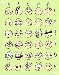 Expressions Meme - face expressions meme read please before comment by awesomesilver