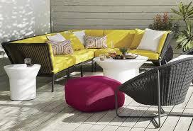 Fun And Fresh Patio Furniture Ideas - Yellow patio furniture