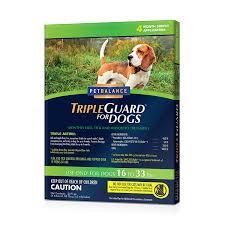 amazon com petbalance tripleguard flea u0026 tick drops for medium
