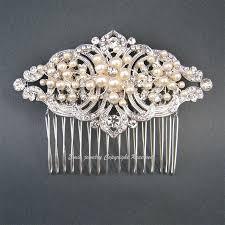 art deco wedding hair accessories vintage style bridal hair comb