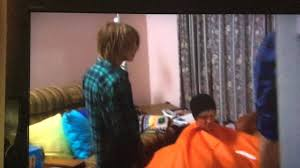 angry boys nathan stuck in a bean bag youtube