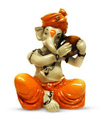 Earth Home Decor by 57 Off On Earth Home Decor Musician Ganesha On Snapdeal