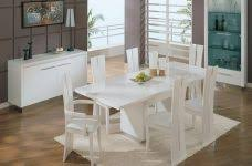 White Wooden Dining Table And Chairs White And Wood Kitchen Table And Chairs Gul