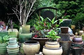Garden Pots Ideas Garden In A Pot Ideas Design Garden Pots Broken Pot Garden
