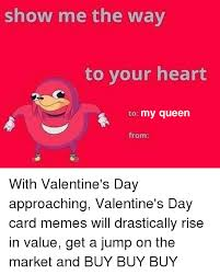 Together Alone Meme - love valentines day alone meme together with valentines day card