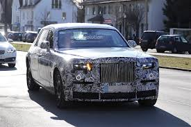 rolls royce concept car 2018 rolls royce phantom spied with no visible major changes