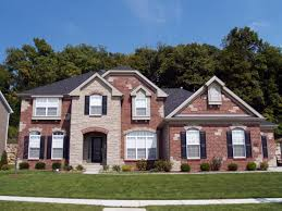 white brick houses exterior brick siding brick and siding